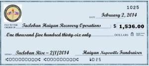 Tacloban Rise check